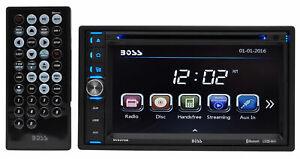 "Din Car DVD/CD Receiver w/Bluetooth/MP3-Boss Audio BV9376B 6.5"" In-Dash Double"