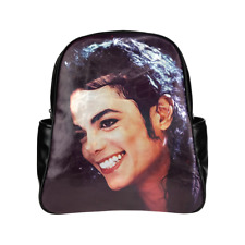 Michael Jackson Multi Pocket Backpack Bag School Bag