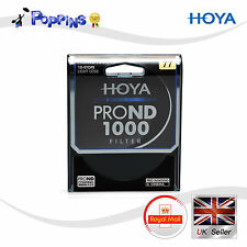 NEW Genuine HOYA PRO ND 1000 Lens Filter 10-STOPS LIGHT LOSS PROND COATING 77mm
