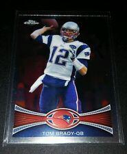 Tom brady #50 Topps Chrome refractor trading card NFL Football Patriots