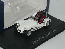New 1:43 Norev Caterham Super Seven 7 n JPE Lotus JPE R400 R300 R500 R600 white