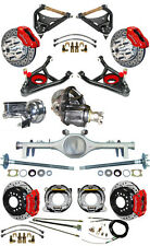 NEW SUSPENSION & WILWOOD BRAKE SET,CURRIE REAR END,CONTROL ARMS,POSI GEAR,687234