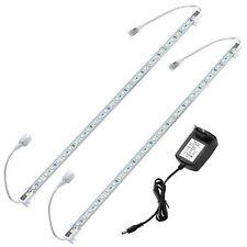 in.tec 2x50cm aluminio Led Barra de luz + Fuente alimentación BLANCO FRÍA