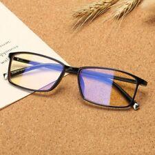 Unisex Computer Glasses Blocking Blue Light Ray Radiation Yellow Lens Eyeglass