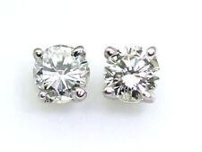 White Gold SI2 Fine Diamond Earrings