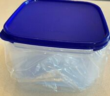 SALE!Tupperware 11C Modular Mate Square #2 Storage Containerw/Seal! New Blue