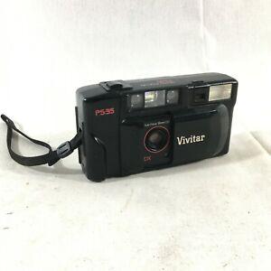 Vivitar PS:35 Black Auto Focus Point 35mm 1:3.8 Flash Shoot Film Camera Tested