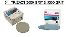 3M 2096 & 30562 Trizact Foam Discs, 5 inch, 3000& 5000 grit ,(2 Sheets Of Each)