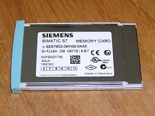 Siemens 6ES7952-0KH00-0AA0 E:06 S7-400 FLASH EPROM 256kB used as new condition