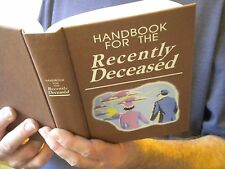 Beetlejuice Handbook Recently Deceased Book movie prop/Winona Ryder -Not the DVD