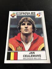 Panini Espana 82 - Ceulemans