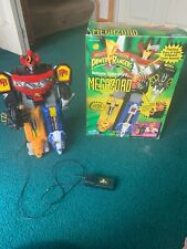 Power Rangers 1990s Remote Control Megazord with Box and Paper Directions