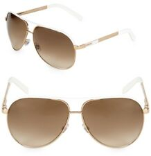 Authentic Gucci Aviator Sunglasses GG 1827/S BNC IS Gold-White / Brown Gradient