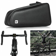 MTB Road Bike Waterproof Bicycle Bag Cycling Front Tube Frame Pouch Pannier UK