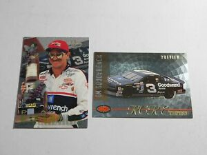 Dale Earnhardt 1996 Classic #53 & 1996 Classic Images GM GoodWrench Preview RCRE
