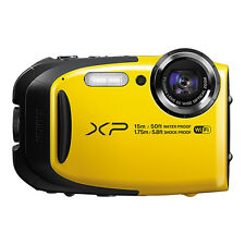 Fujifilm FinePix XP80 16.4MP Digital Camera Yellow Full-HD WiFi