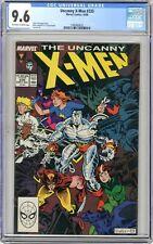 X-Men  #235  CGC   9.6   NM+   Off white to white pgs  10/88  Rick Leonardi & P.