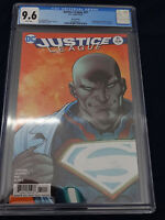 Justice League #51 Recalled Error Direct Edition 3.99 Rare DC Comic CGC 9.6