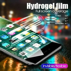 Hydrogel Film Screen Protector For iPhone 12 Mini/ 12 /12 Pro /12 Pro Max TPU