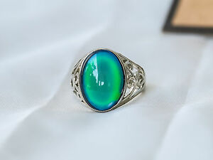 Limited Edition Oval Stone Mood Ring