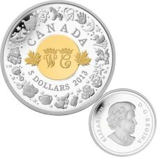 2013 Canada $5 Fine Silver Coin - Royal Infant Toys - SPECIAL PRICE