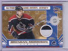 2003-04 Pacific Prism Patches #148 Brendan Morrison Jersey 19/25