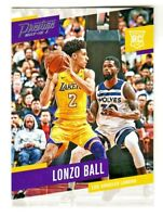 2017-18 Panini Prestige #152 LONZO BALL RC Rookie Los Angeles Lakers