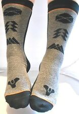 DESTINY LOOT CRATE Level Up MEN'S CREW SOCKS HUNTER WARLOCK & TITAN LOGOS