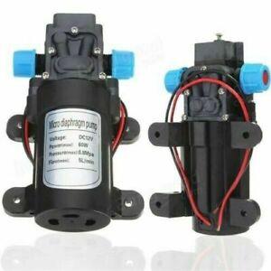Diaphragm High Pressure Water Pump 12V Micro Car Automatic Switch Self Priming A
