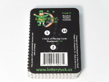 Lottery Luck(TM) Random Number Assistant for Virginia Cash 5 / Card Deck