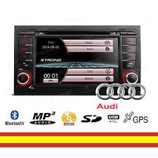 "Autorradio GPS para Audi A4 S4 RS4 7"" Bluetooth Mirroring Soporta 3G + Canbus"