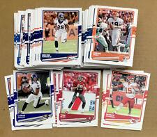 2020 Panini Donruss NFL Football Base Card Stars Veterans Only #1-250 You Pick!
