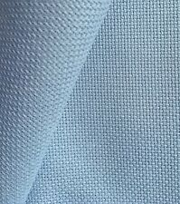 Wedgwood Blue 18 Count Zweigart Aida cross stitch fabric - various size options