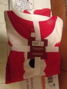 Wondershop Family Womans Red Santa Pajamas 2 piece large
