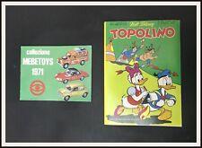 ⭐️ Topolino 810 con catalogo MEBETOYS MATTEL - 1971 - DISNEYANA.IT ⭐️