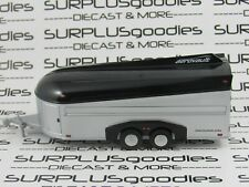 Greenlight 1:64 Loose Silver/Black Aerovault Enclosed Trailer Car Hauler Tow