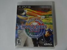 NIP Little League World Series 2010 Sony Playstation 3 PS3 Game New Sealed