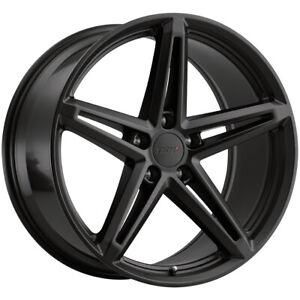 """TSW Molteno 18x8.5 5x4.5"""" +30mm Matte Black Wheel Rim 18"""" Inch"""