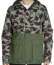 B2879 • DC Shoes Tick Snow Jacket • NWT Mens XL Camouflage Lodge • #27837