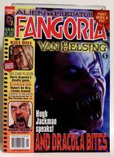 """""""FANGORIA"""" Magazine Issue #232 (MAY, 2004) VAN HELSING, KILL BILL, HELLBOY, AVP"""