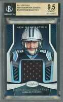 Christian Mccaffrey Rookie Card 2017 Certified New Generation Jerseys #5 BGS 9.5