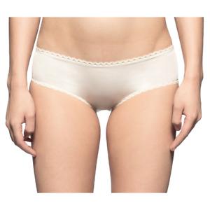 Calvin Klein Womens Seductive Comfort Hipster Brief - Ivory