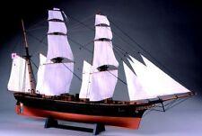 Woody JOE 1/75 Kanrin Maru (with sail) Wooden Mini Model Kit Japan