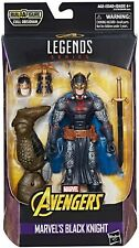 Avengers Marvel Legends Cull Obsidian Series Black Knight Action Figure