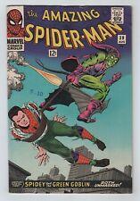 Marvel 1966 AMAZING SPIDER-MAN No. 39 Goblin Revealed As Osborn FN/VF 7.0+ Sharp