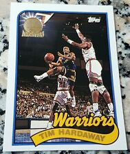 TIM HARDAWAY Topps #1 Draft Pick GOLD SP Rookie Card 1989 1993 GSW Warriors
