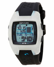 RIP CURL TRESTLES MIDSIZE TIDE WATCH Crystal Blue OCEANSEARCH ATS Surf + FreeExp