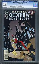 Batman: Gotham Adventures #10 (DC 3/99) CGC 9.8! Classic Timm Harley Quinn!