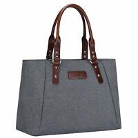 Women's 15.6''Laptop Shoulder Bag Office Work Handbag Travel Shopping Daily Tote