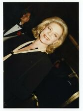 Lauren Bacall - Vintage Candid Photo by Peter Warrack - Previously Unpublished